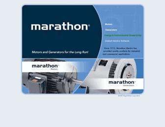marathonelectric.com screenshot