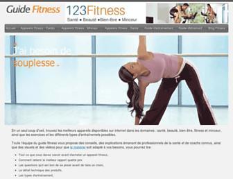 guide-fitness.fr screenshot