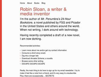 robinsloan.com screenshot