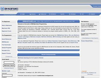 ibmmainframes.com screenshot