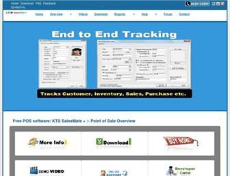 salesmateplus.ktsinfotech.com screenshot