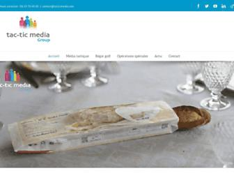 tacticmedia.com screenshot