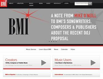 bmi.com screenshot