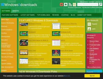 windows8downloads.com screenshot