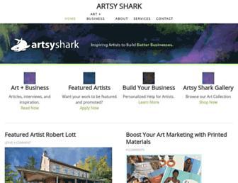 artsyshark.com screenshot