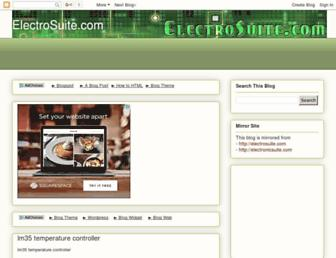 electronicsuite.blogspot.com screenshot