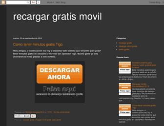 saldo-gratis-para-tu-movil.blogspot.com screenshot