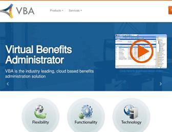 vbasoftware.com screenshot