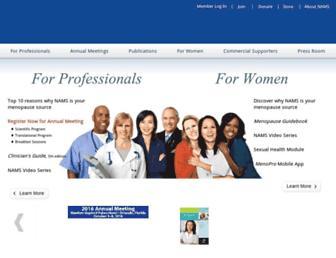 Thumbshot of Menopause.org
