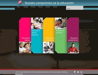 editorialpatria.com.mx screenshot