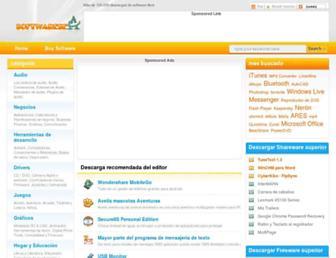es.softwaresea.com screenshot