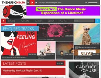themusicninja.com screenshot