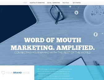 yourbrandvoice.com screenshot