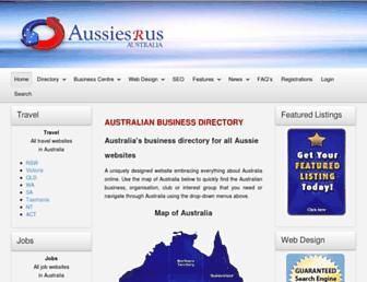 Thumbshot of Aussiesrus.com.au