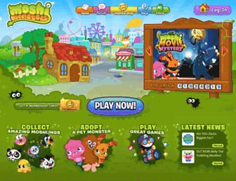 Thumbshot of Moshimonsters.com