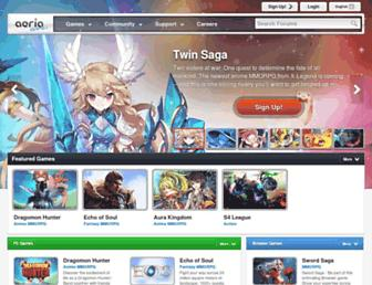 Thumbshot of Aeriagames.com