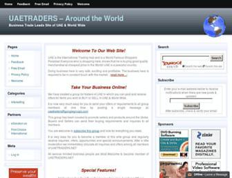 Thumbshot of Uaetraders.net