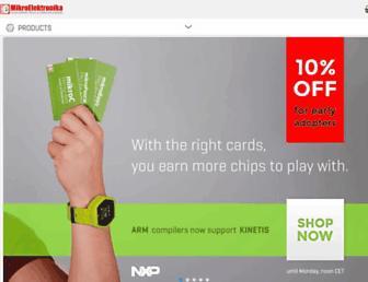 mikroe.com screenshot