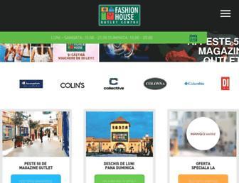 fashionhouse.ro screenshot