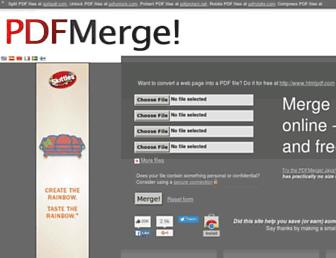 Thumbshot of Pdfmerge.com