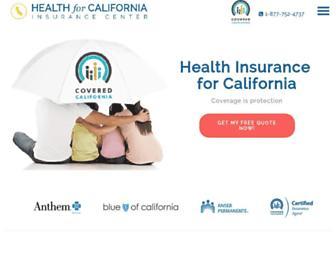 healthforcalifornia.com screenshot