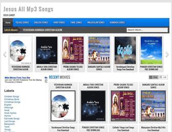 jesuschristsongs.com screenshot