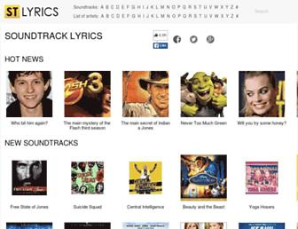 Thumbshot of Stlyrics.com