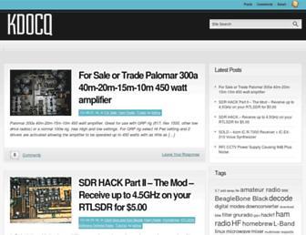 kd0cq.com screenshot