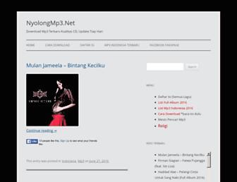 nyolongmp3.net screenshot