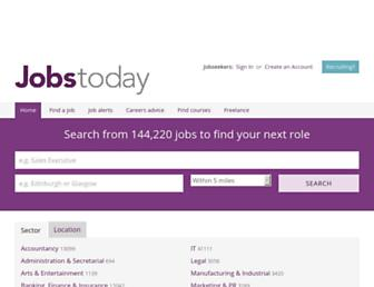 Thumbshot of Ajobtoday.co.uk