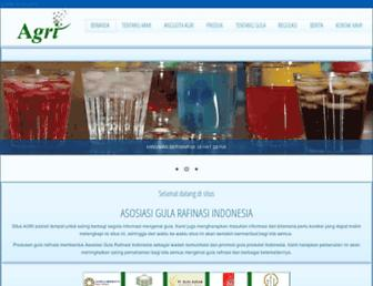 agrirafinasi.org screenshot