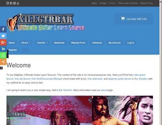 xillgtrbar.com screenshot