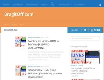 bragitoff.com screenshot