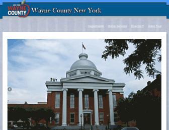 web.co.wayne.ny.us screenshot