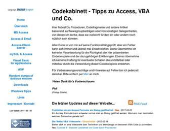 codekabinett.com screenshot