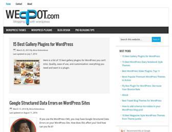 weppot.com screenshot