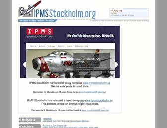 ipmsstockholm.org screenshot