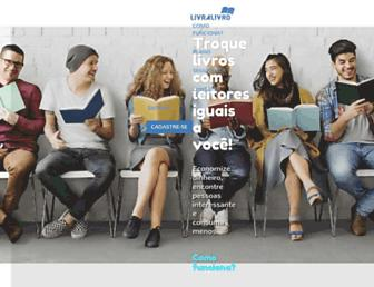 Thumbshot of Livralivro.com.br