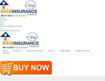 asiainsurance.com.pk screenshot