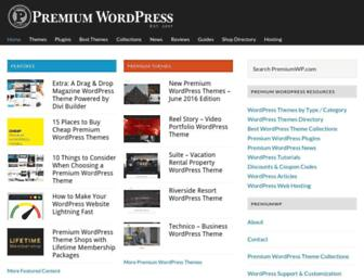 premiumwp.com screenshot