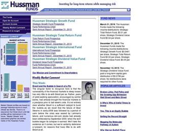 Thumbshot of Hussmanfunds.com
