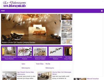Thumbshot of Dekorasyonu.info