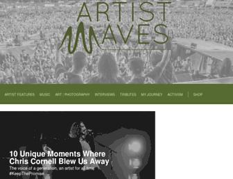 artistwaves.com screenshot