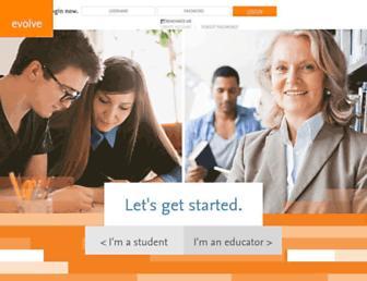 evolve.elsevier.com screenshot