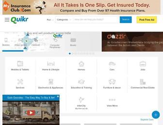 puri.quikr.com screenshot
