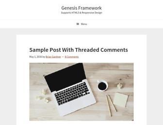 Thumbshot of Genesisframework.com