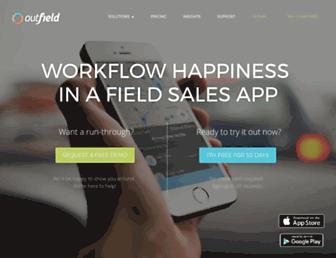 outfieldapp.com screenshot