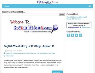gr8ambitionz.com screenshot