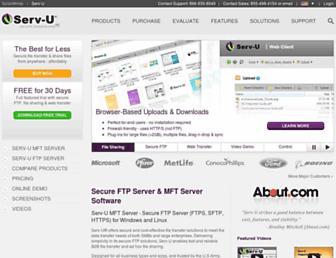 Thumbshot of Serv-u.com