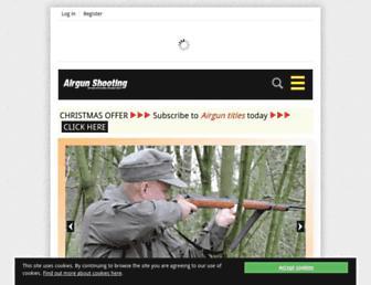 airgunshooting.co.uk screenshot
